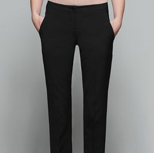 Theory Stretch Wool Slim Fit Ankle Trousers